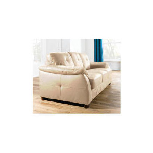 Photo of Modena Large Leather Sofa, Cream Furniture