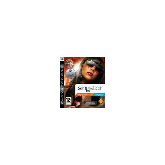 SingStar: Pop Edition (PS3)