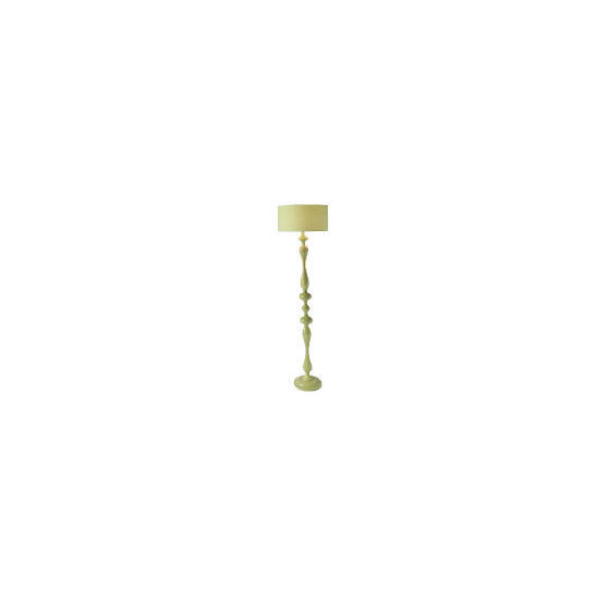 Tesco Spindle Floor Lamp, Lime