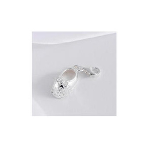 Photo of Sterling Silver Baby Shoe Charm Jewellery Woman
