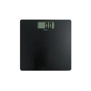 Photo of Salter Ultra Slim Electronic Scale Black Scale