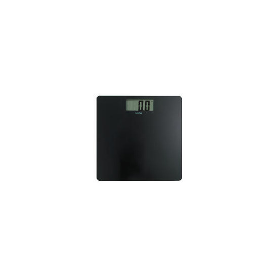 Salter Ultra Slim Electronic Scale Black
