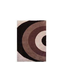 Tesco Graduated Semi Circles Rug 120x170cm Natural Reviews