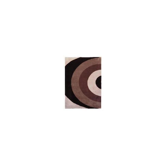 Tesco Graduated Semi Circles Rug 120x170cm Natural