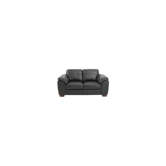 Darwin Leather Sofa, Black