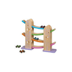 Photo of Tesco Little Steps Wooden Ramp Racer Toy