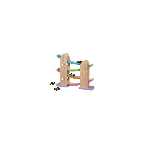 Tesco Little Steps Wooden Ramp Racer