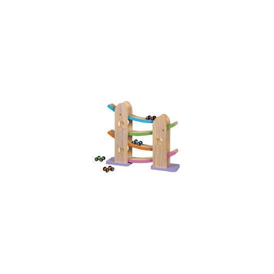 Tesco Little Steps Wooden Ramp Racer