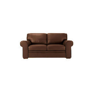 Photo of York Leather Sofa, Chocolate Furniture