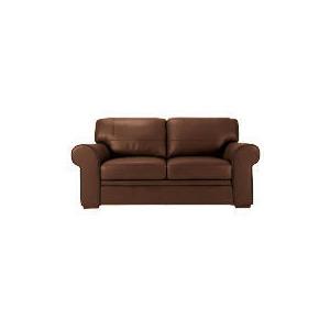 Photo of York Leather Sofa, Chocolate Furniture