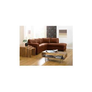Photo of Aspen Right Hand Corner Leather Sofa, Cognac Furniture