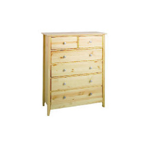 Photo of Fairhaven 6 Drawer Chest, Natural Furniture