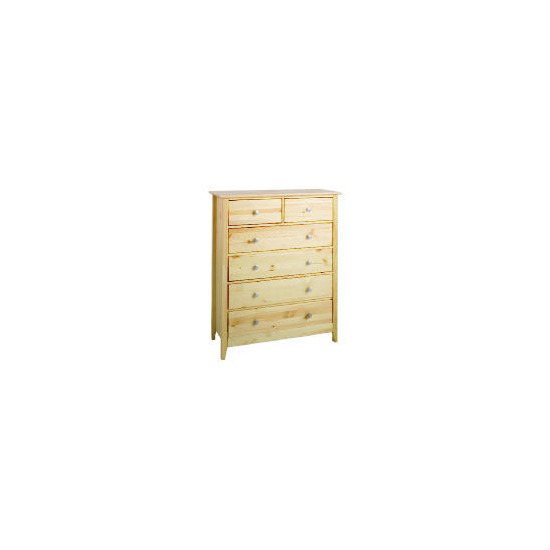 Fairhaven 6 Drawer Chest, Natural