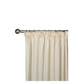 Tesco Plain Canvas Unlined Pencil Pleat Curtain 229x137cm, Natural Reviews