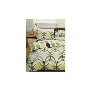 Photo of Tesco Retro EYE Print Duvet Set Single, Multi Bed Linen