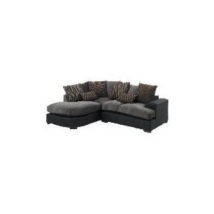 Photo of Somerton Left Hand Facing Corner Unit, Charcoal Furniture