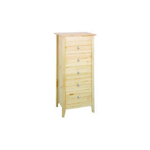 Photo of Fairhaven 5 Drawer Tall Chest, Natural Furniture