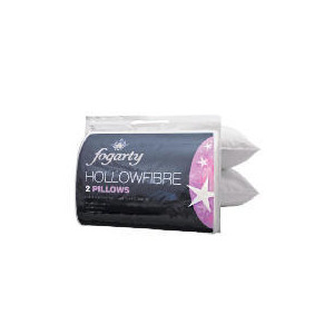 Photo of Fogarty Hollowfibre Pillow 2 Pack With Protectors Bedding
