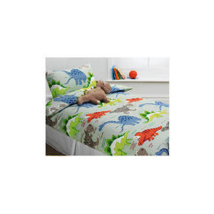 Photo of Tesco Kids Dinodippy Duvet Bed Linen