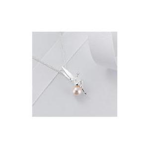 Photo of DISNEY TINKERBELL GLASS PEARL PENDANT Jewellery Woman