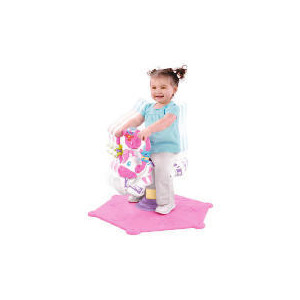 Photo of Fisher-Price Pink Bounce & Spin Zebra Toy