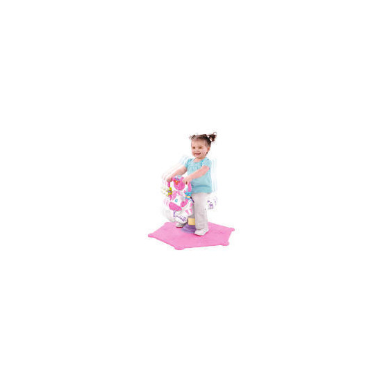 Fisher-Price Pink Bounce & Spin Zebra