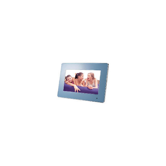 "Luminox 7"" 4 Colour Interchangable Digital Photo Frame"
