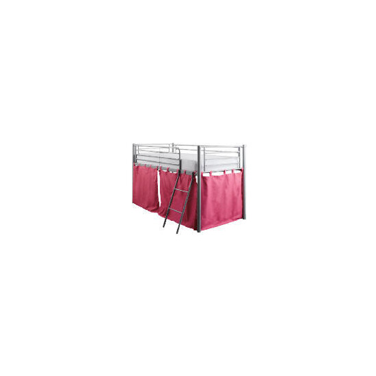 Mika Metal Midsleeper With Cover Pink