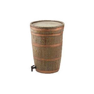 Photo of Oak Wood Water Butt Garden Equipment