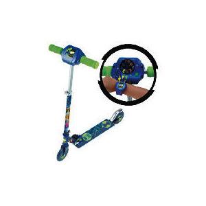 Photo of Ben 10 Alienforce Intercative Omnitrix Inline Scooter Toy