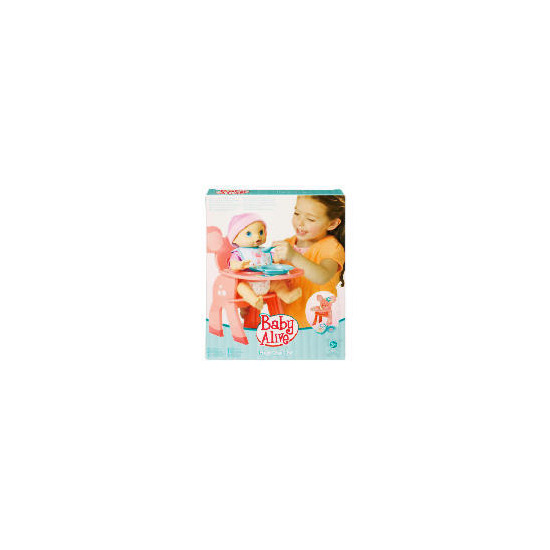 Baby Alive Snack Time High Chair