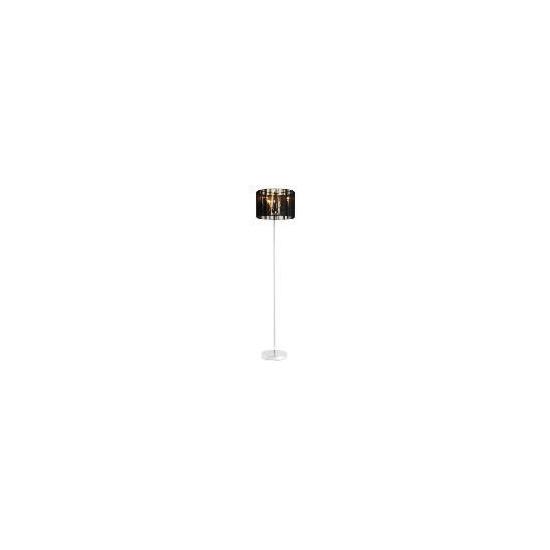 Tesco 5* Hotel Larissa Floor Lamp, Black