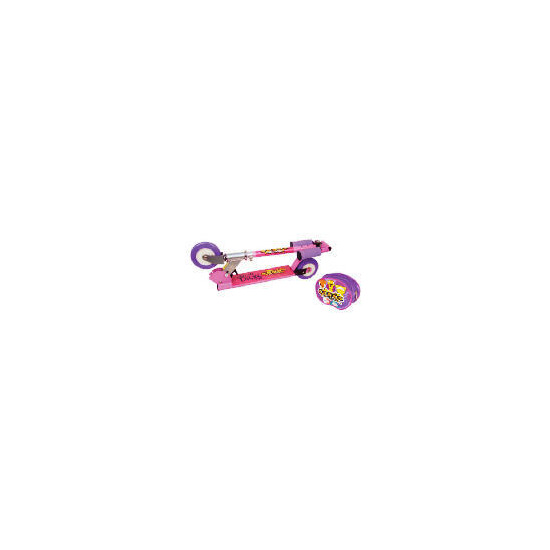 Crazy Bones Folding Girl's Scooter