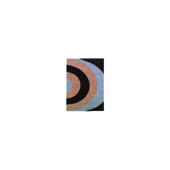 Tesco Graduated Semi Circles Rug 120x170cm Duck Egg