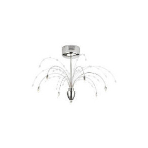 Photo of Tesco Chrome Hydra Ceiling Fitting Lighting