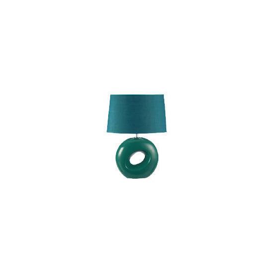 Tesco Calypso Table Lamp, Teal