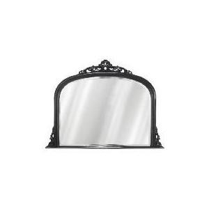 Photo of Marseille Overmantle Mirror Black 119X90CM Home Miscellaneou