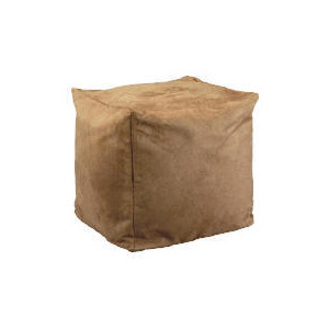 Photo of Bean Cube Faux Suede, Beige 45X45 Furniture