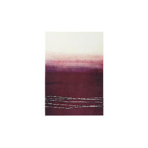 Photo of Abstract Plum Hand Painted Canvas 70X100CM Home Miscellaneou