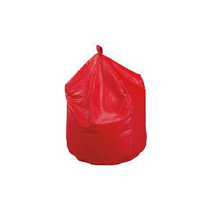 Photo of Large Bean Bag Faux Leather, Red Furniture
