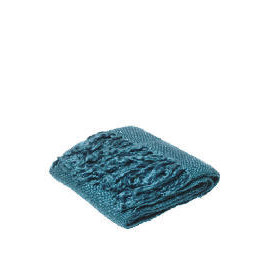 Tesco Lurex Throw Teal Reviews