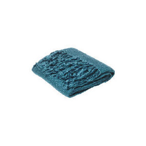 Photo of Tesco Lurex Throw Teal Towel