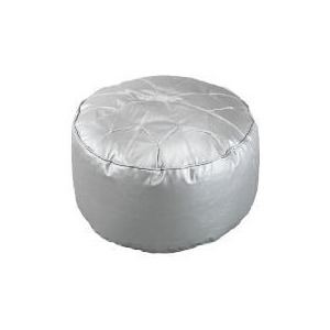 Photo of Star Morrocan Footstool, Silver 60X30CM Furniture