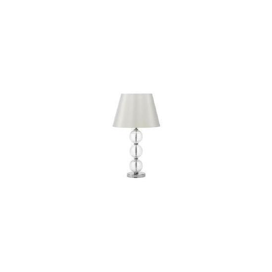 Tesco Pebble Table Lamp, Clear