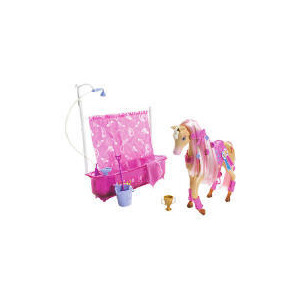 Photo of Barbie Shower Horse & Doll Toy