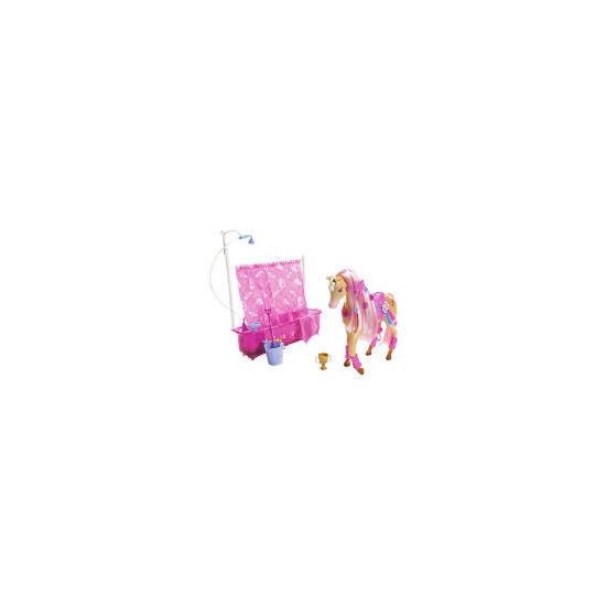 Barbie Shower Horse & Doll