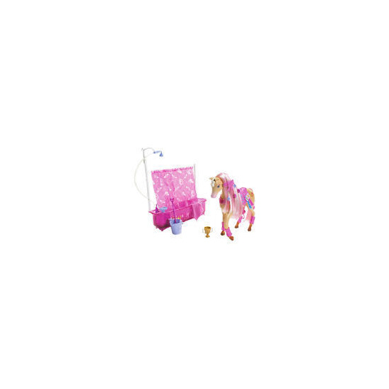 Barbie Shower Horse & Doll
