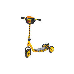 Photo of JCB 3 Wheeled Scooter With Sounds Toy
