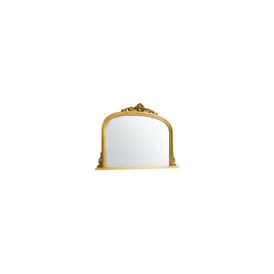 Marseille Overmantle Mirror Gold 119x90cm