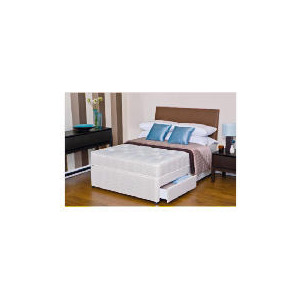 Photo of Silentnight Miracoil 3-Zone Maine Ortho Single 2 Drawer Divan Set Bedding